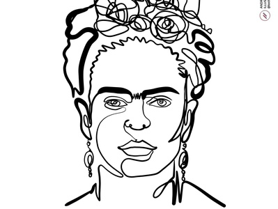 With one line: Frida