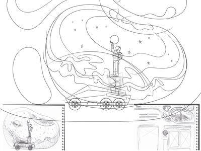 Landing Page Design — part 2, detailed contours