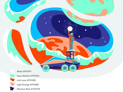 Work in progress: Web Design, Adding Some More Colors