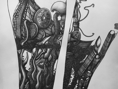 Mike's Tattoo Sleeve Part 2