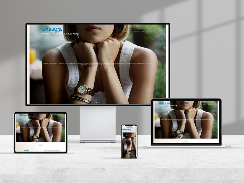 CarboneResponsScreens brand graphic designer digital graphic  design logo branding design website design website