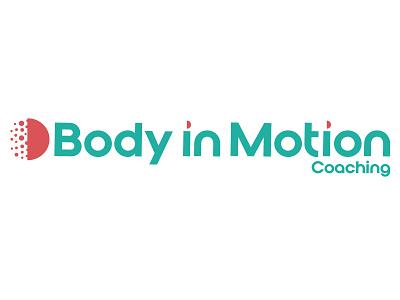 Body In Motion nutrition wellness health logo identity logo designs logo design logos vector print graphic designer digital brand graphic  design branding logo design
