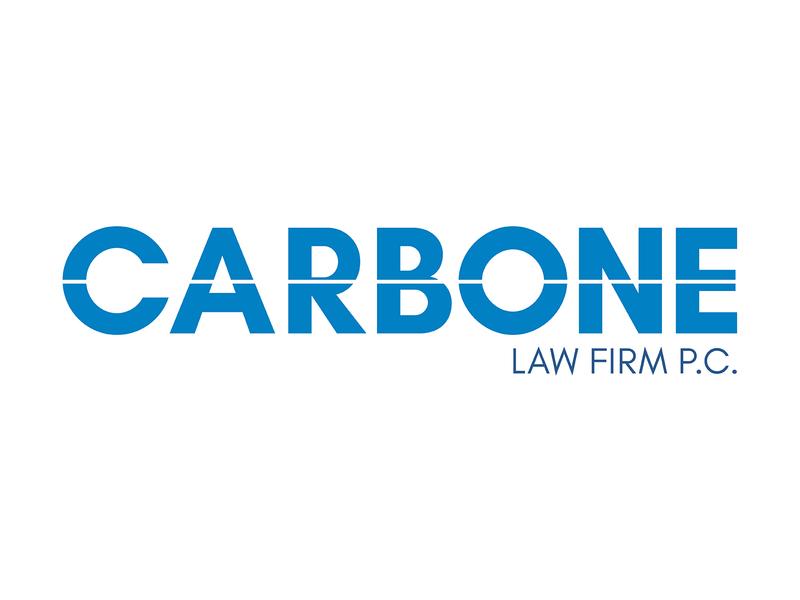 Carbone law firm P.C. stationary design idenity business cards brand print design print layout graphic  design logo design branding