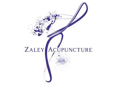 Zaley Acupuncture movement brand digital print print design graphic  design branding logo design