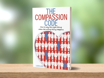 The Compassion Code Book Cover indesign illustrator layout book books graphic designers graphic design print design design book cover design book cover