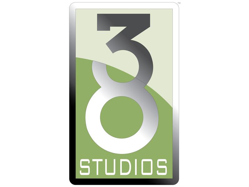 38 Studios logo graphic designers graphic designer logo designer gaming company branding guidelines logo design branding brand logo