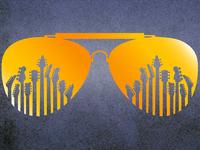 Sunglasses graphic conferences binder tshirts digital print vector graphic  design design
