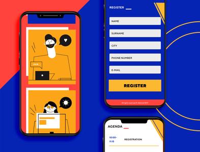 mobile meetup ui/ux