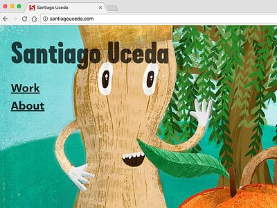 New Website illustration website
