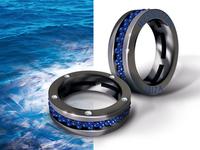 Wesselton Ibiza blue