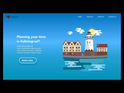 I love Kaliningrad