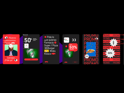 RAPPI™ Brand Book 2.0 fun colorfull modern uxdesign uidesign ecommerce digital smart platform rappi