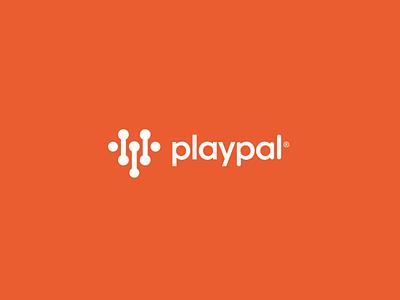 Playpal™ Digital Branding orange smart language identity design icon appdesign app platform concept conceptual logo branding health digital