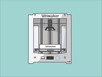 Ultimaker 3D printring
