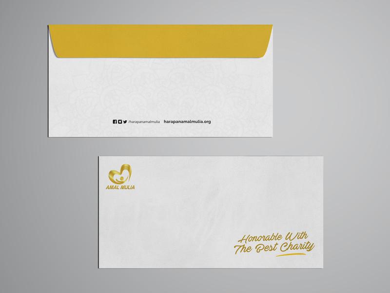 Envelope Design For Humanity Organization graphic  design envelope