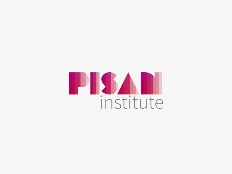 [concept] Pisan Institute gradient color logo