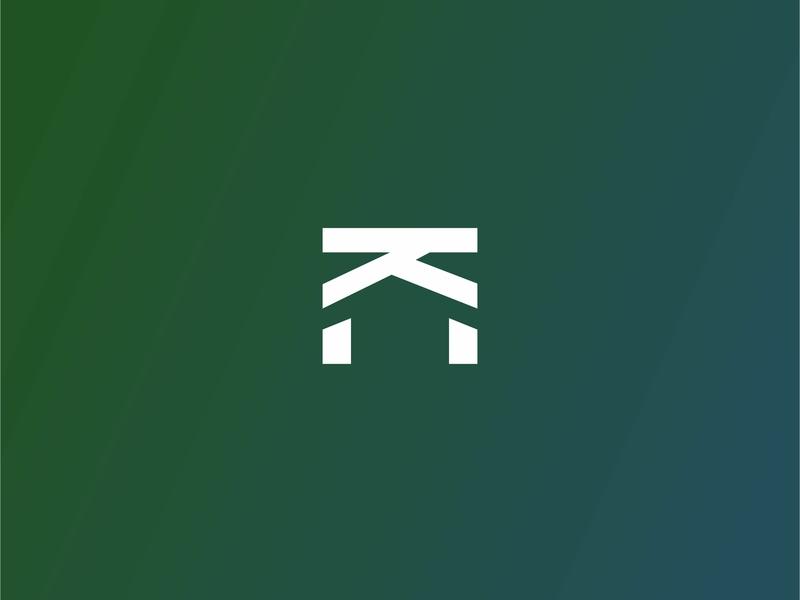 IKI LOGO branding design typography vector logo gradient color graphic  design
