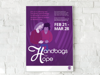 Handbags for Hope Illustration & Poster Design