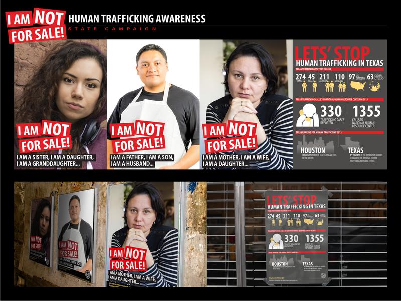 Human Trafficking Awareness Campaign poster art graphic  design design