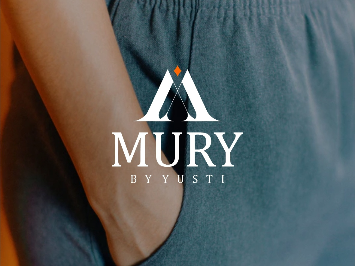 Mury by Yusti boutique logo monogram busines fashion brand brand identity logo fashion