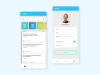 UI Design for University App