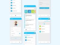 UI Design for University App