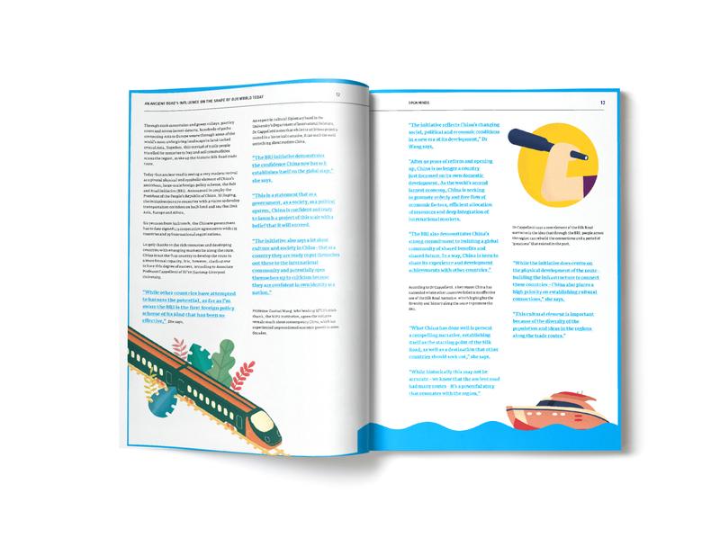 Brochure Design graphic design graphic graphicdesign university mockup illustration branding design