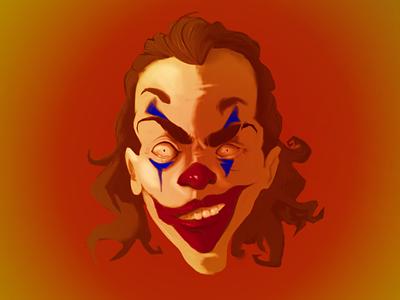Joker Portrait procreate art procreate illustration digitalart