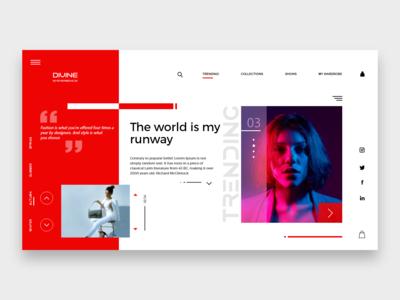 Divine Experience Webpage Concept