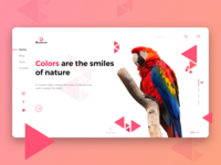 Essence Nature Blog Webpage