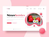 Fruitopia Webpage Concept