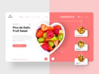 Fruit Delight Webpage Concept