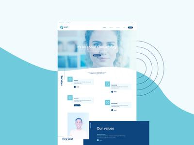 Consultancy Webpage