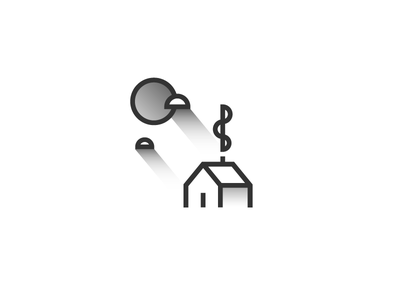 Cabin smoke illustration cabin abstract