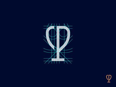 Polka. Grid grid trophy p polka. cycling type branding logo colors mark race monogram