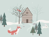 Winter Woodland WIP