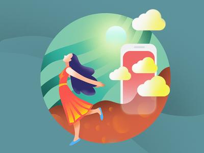 "illustration ""cloud"""
