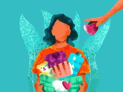 illustration #charity