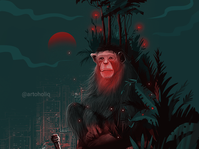 Ape forest