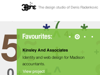 38one Homepage Detail