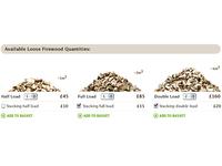 JagTimber firewood quantities