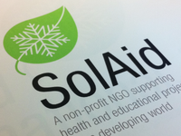 SolAid (Snow On Leaf) logo concept