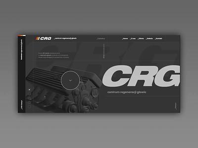 The Center for Regeneration of Engine Heads photoshop olsztyn automotive interface adobexd design webdesign ux ui agency