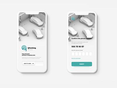 Parking App art photoshop app design app navigation car automotive parking app agency design ux interface ui adobexd