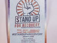 Recovery PAC Stand Up for Recover Fundraiser Mixer - Jammyland