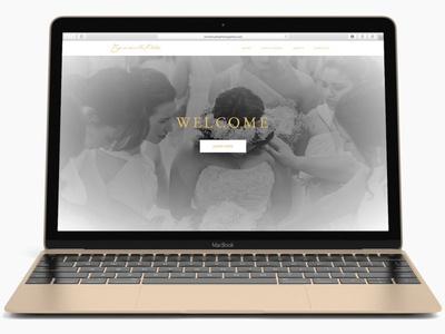 Emmanuella Photos Gallery site web design white gold photography