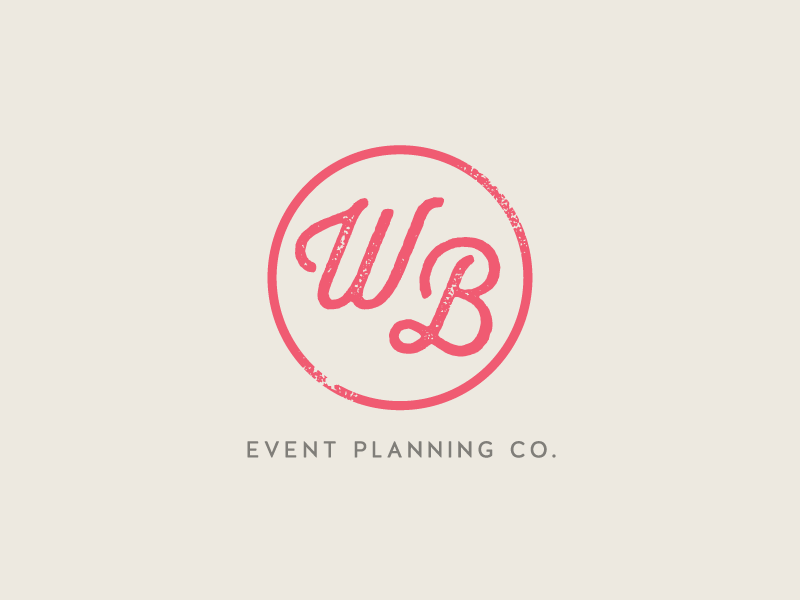 Logo for Wedding Belles Events