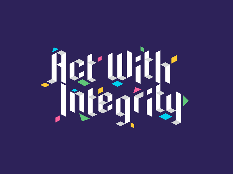 Mural Series: Act With Integrity