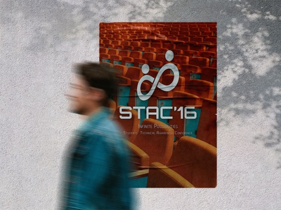 Poster Design for conference adobe photoshop photoshop realistic blur technical studetn student mockups mock-up mockup infinite branding 2016 logo design logo conference poster