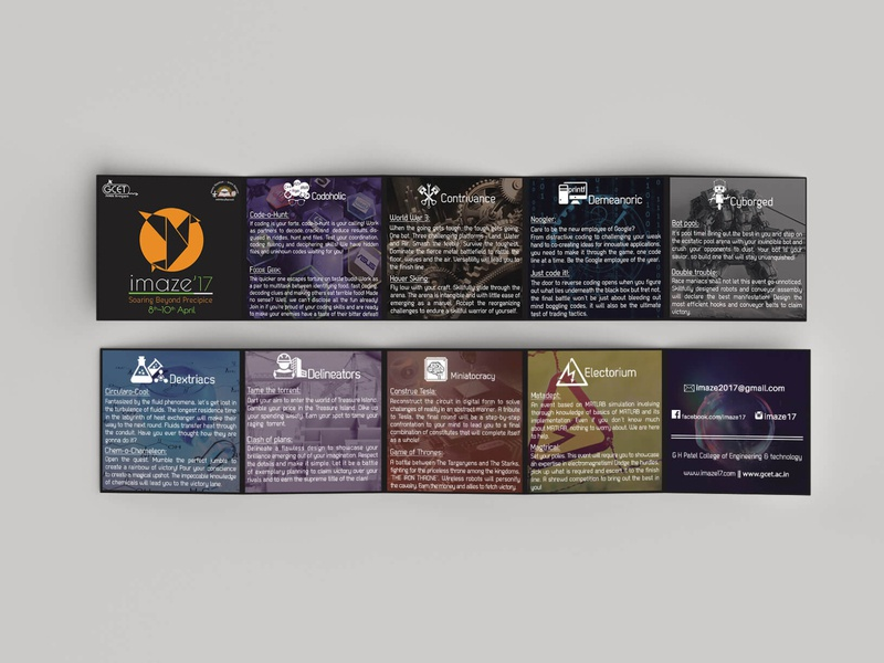 Five Folded Flyer Two Side infographics flyer brochure product design product adobe illustrator illustration mockups mock-up adobe photoshop conference mockup branding logo design logo